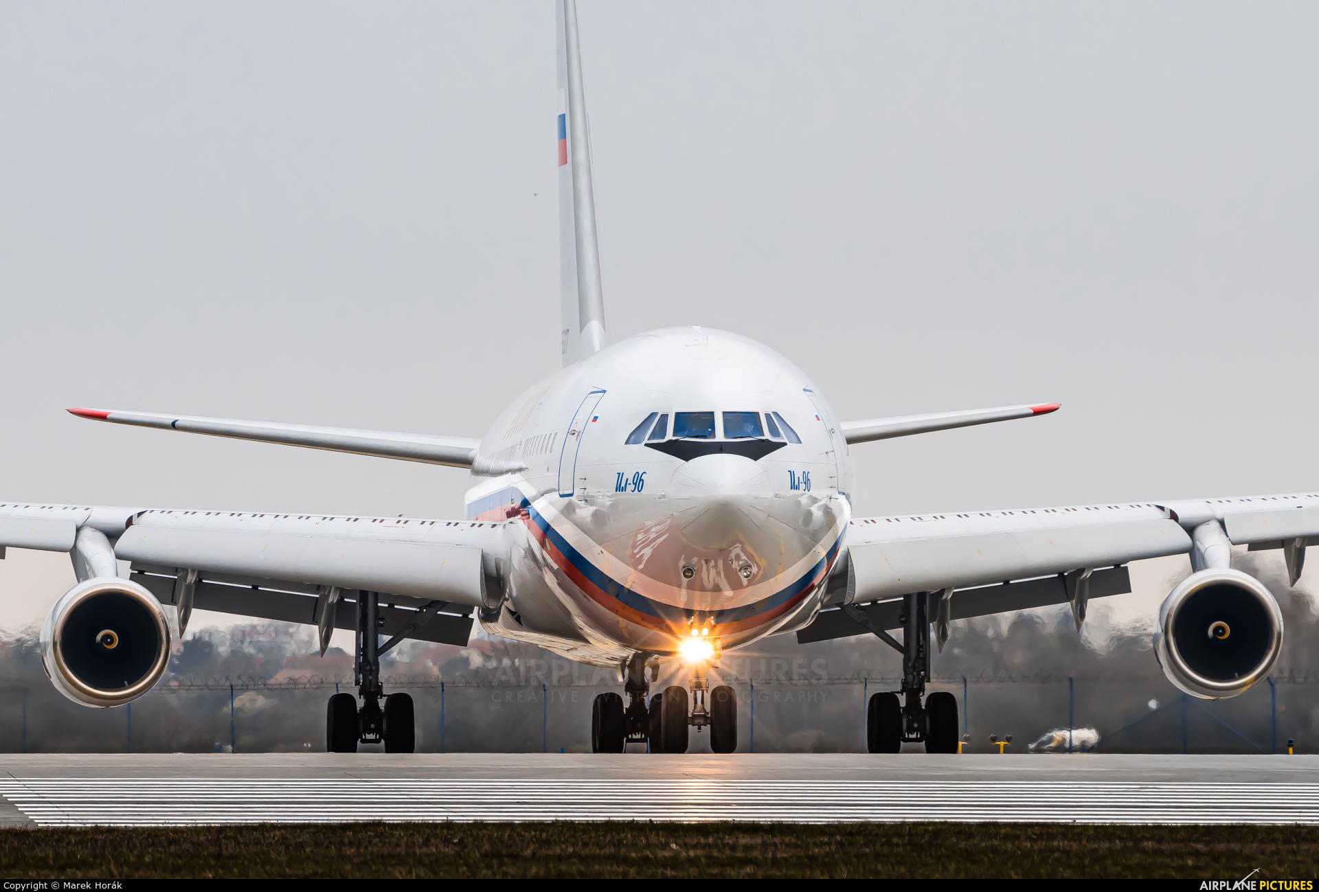 Rossiya Special Flight Detachment RA-96017 aircraft at Prague - Václav Havel