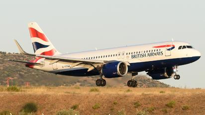 G-TTNH - British Airways Airbus A320 NEO
