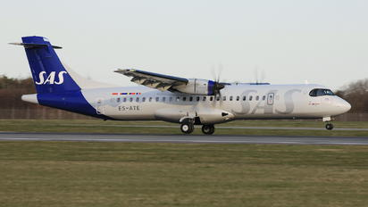 ES-ATE - SAS - Scandinavian Airlines ATR 72 (all models)