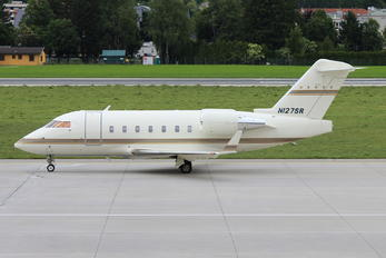 N127SR - Private Canadair CL-600 Challenger 604