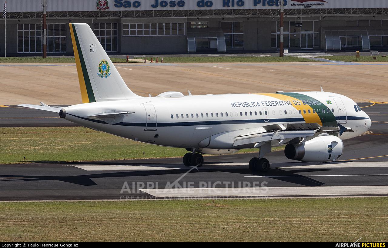 Brazil - Government FAB2101 aircraft at São José do Rio Preto