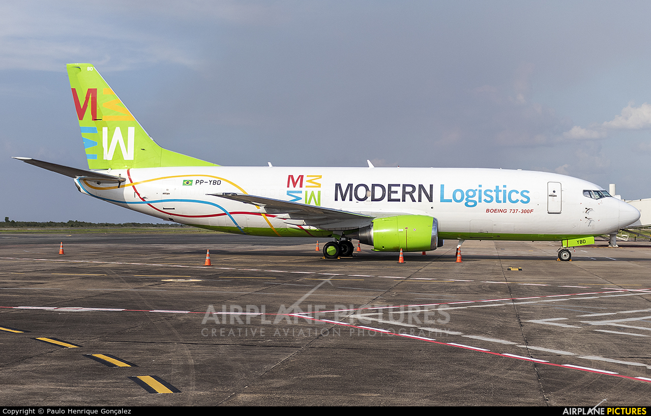 Modern Logistics PP-YBD aircraft at Boa Vista Intl Airport