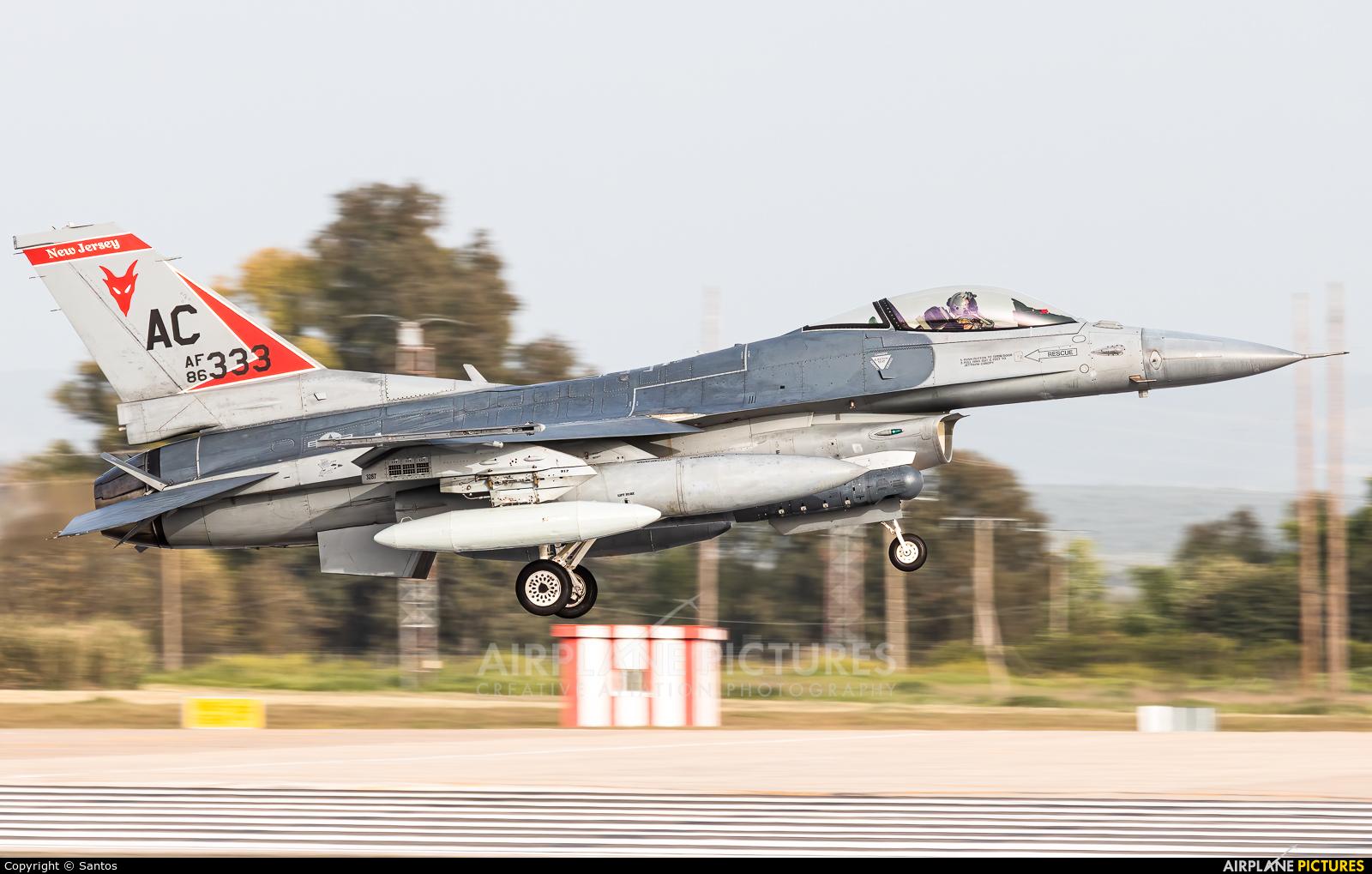 USA - Air Force 86-0333 aircraft at Seville - Moron de la Frontera