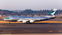 B-HUS - Cathay Pacific Cargo Boeing 747-400BCF, SF, BDSF aircraft
