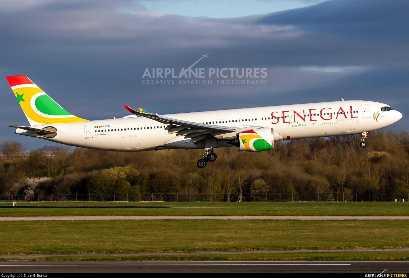 Air Senegal International 9H-SZN aircraft at Manchester