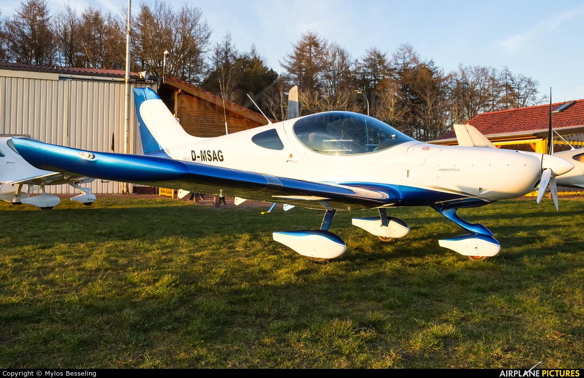 Private D-MSAG aircraft at Flugplatz Dankern