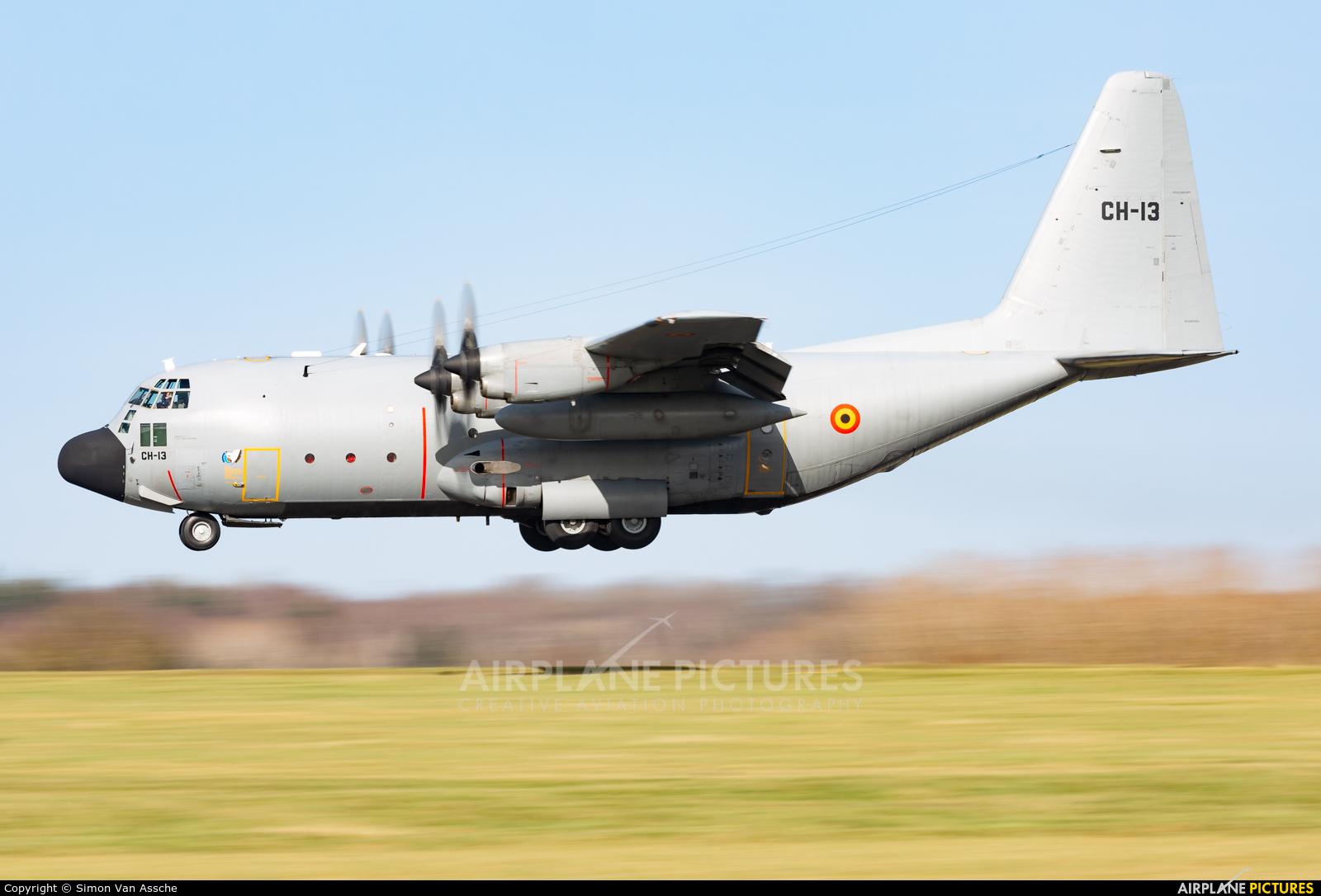 Belgium - Air Force CH-13 aircraft at Florennes