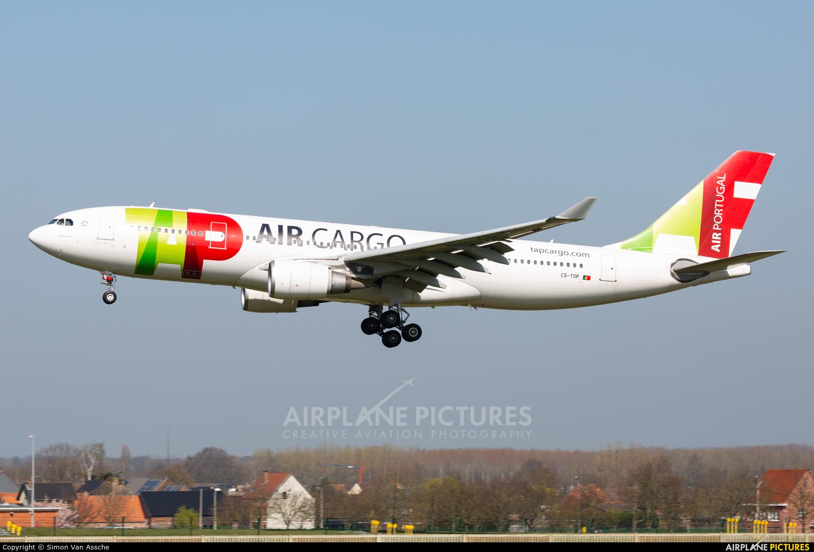 TAP Portugal CS-TOP aircraft at Brussels - Zaventem