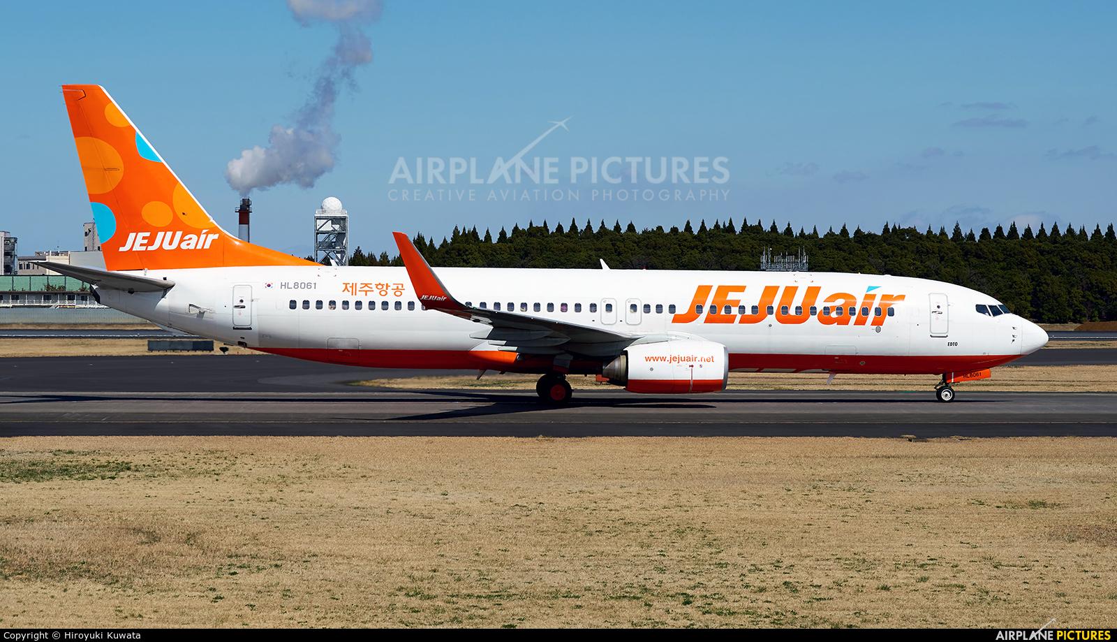 Jeju Air HL8061 aircraft at Tokyo - Narita Intl