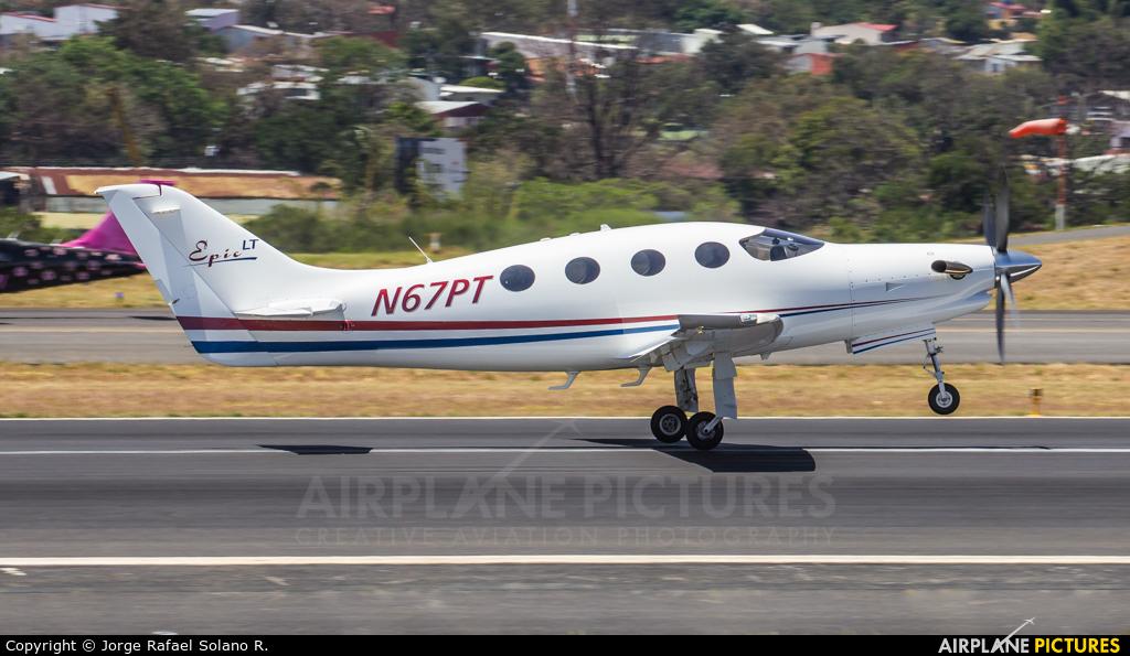 Private N67PT aircraft at San Jose - Juan Santamaría Intl