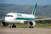 EI-IKU - Alitalia Airbus A320 aircraft
