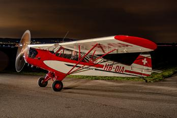 HB-OIA - Fluggruppe Albatros Piper J3 Cub