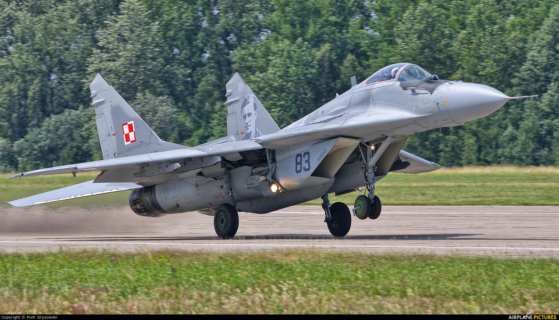 Poland - Air Force 83 aircraft at Mińsk Mazowiecki