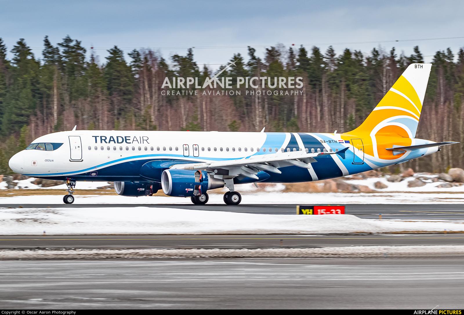 Trade Air 9A-BTH aircraft at Helsinki - Vantaa