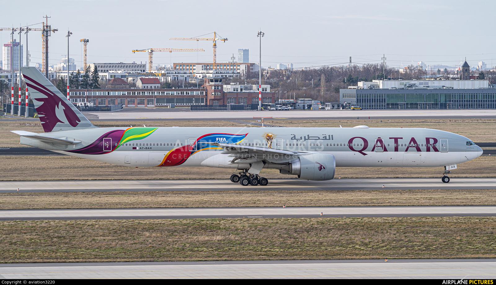 Qatar Airways A7-BAX aircraft at Berlin - Brandenburg