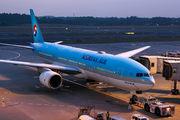HL7721 - Korean Air Boeing 777-200ER aircraft