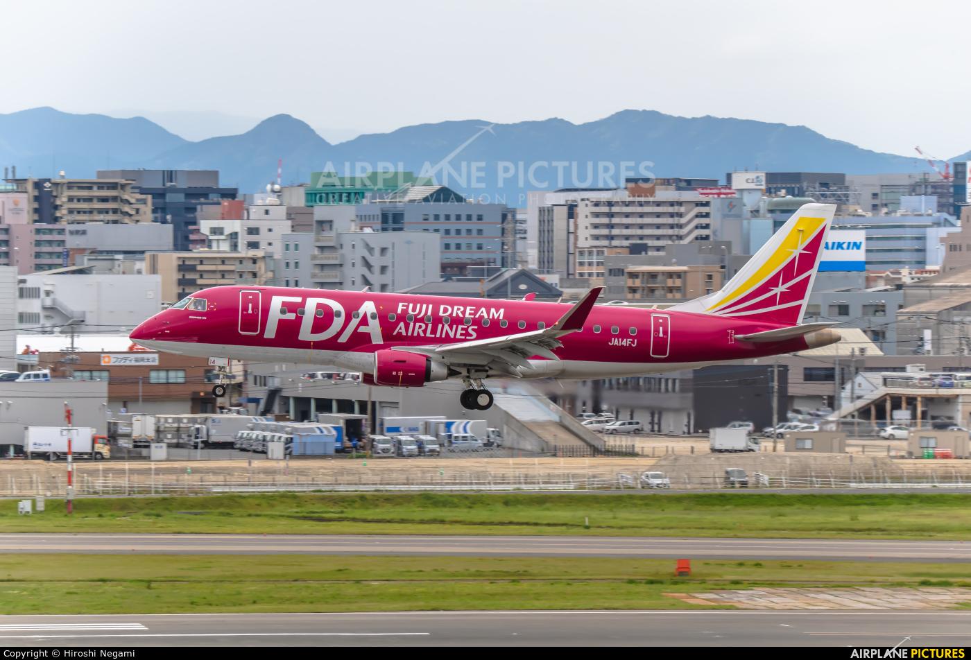 Fuji Dream Airlines JA14FJ aircraft at Fukuoka