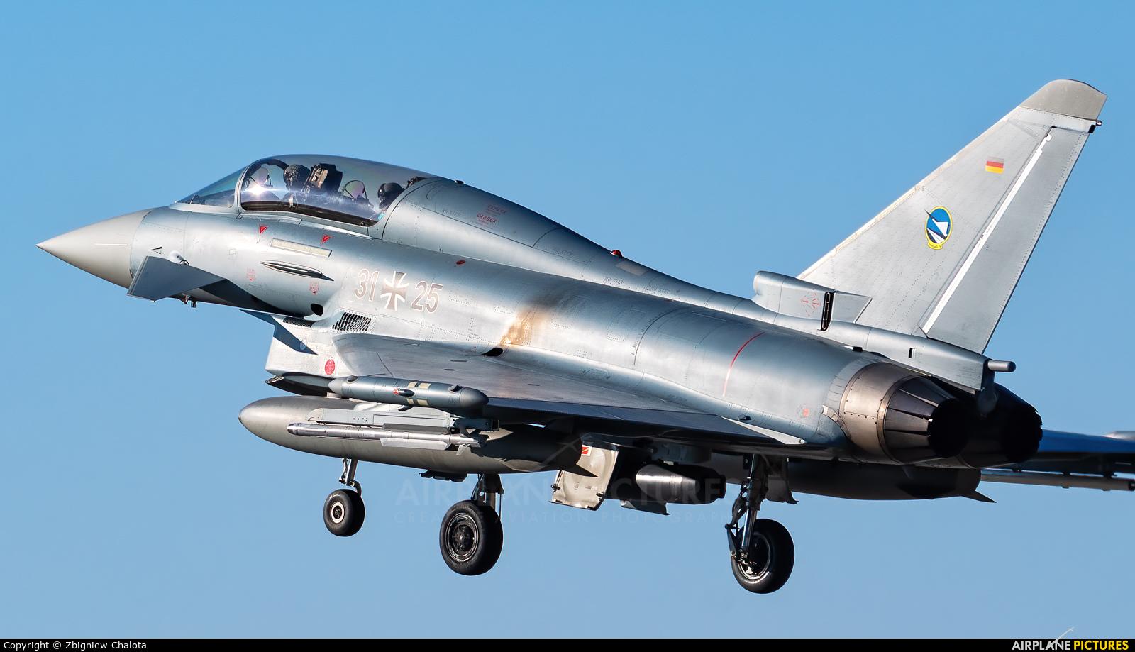 Germany - Air Force 31+25 aircraft at Neuburg - Zell