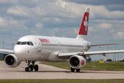 HB-IJU - Swiss Airbus A320 aircraft
