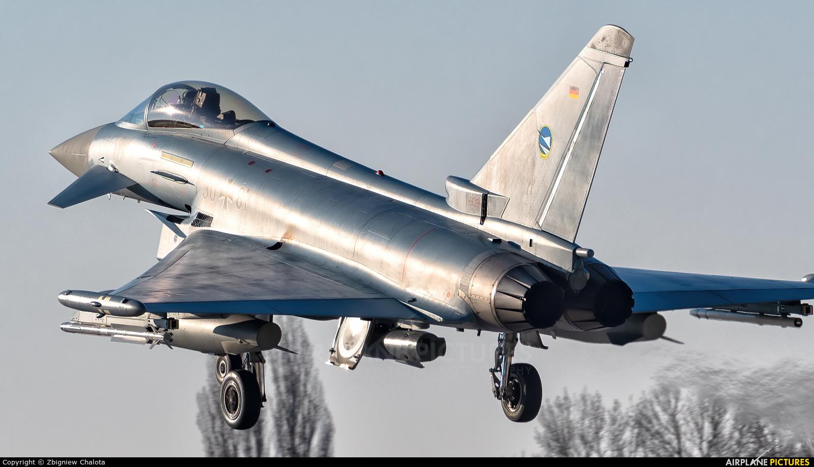 Germany - Air Force 30+81 aircraft at Neuburg - Zell