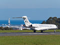 Private Bombardier BD700 Global 7500 N203JE at La Coruña airport