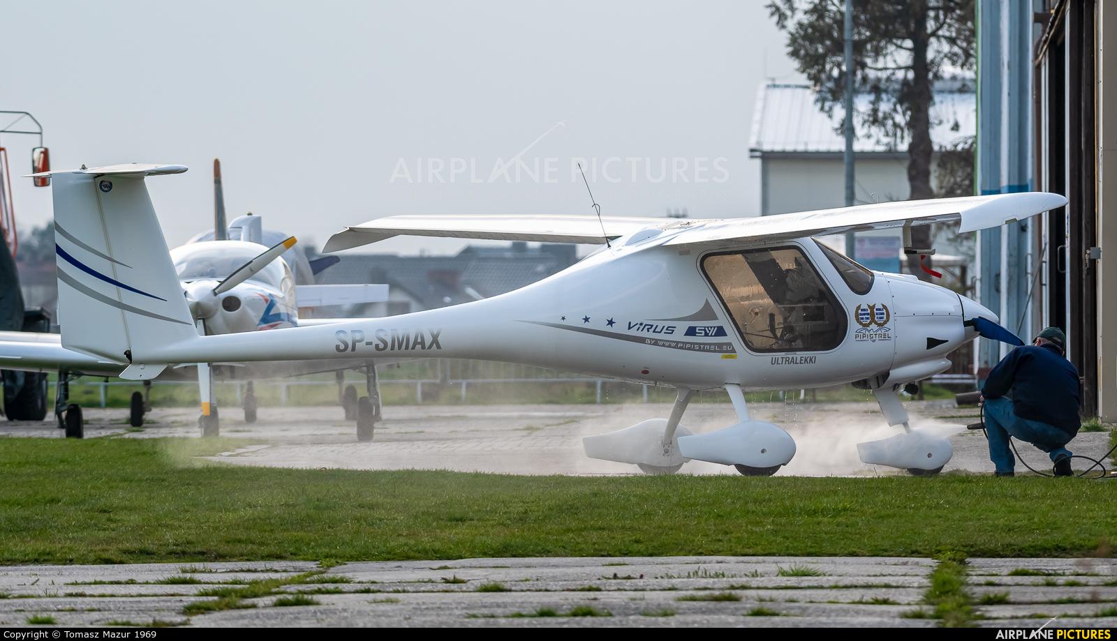 Private SP-SMAX aircraft at Rybnik - Gotartowice