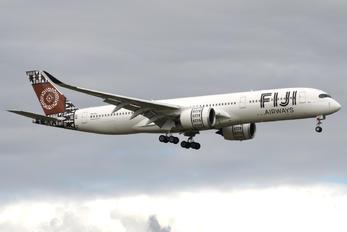 DQ-FAJ - Fiji Airways Airbus A350-900