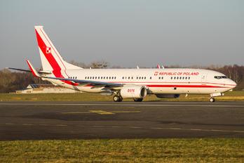 0111 - Poland - Air Force Boeing 737-800 BBJ