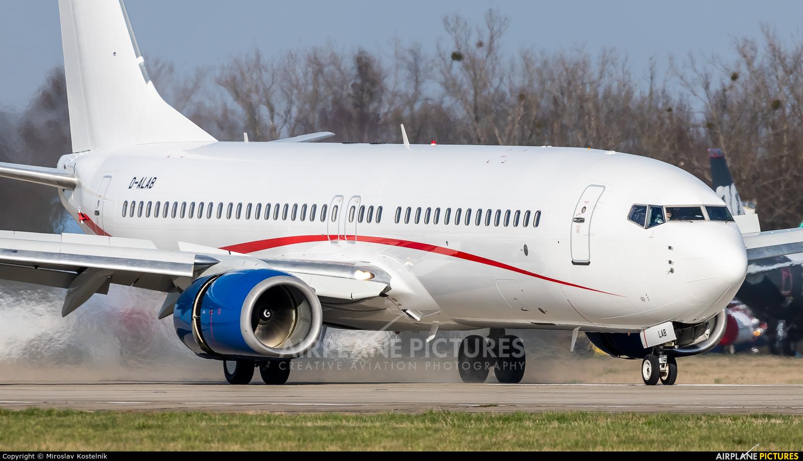 Georgian Airways D-ALAB aircraft at Ostrava Mošnov