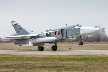 40 - Russia - Air Force Sukhoi Su-24M