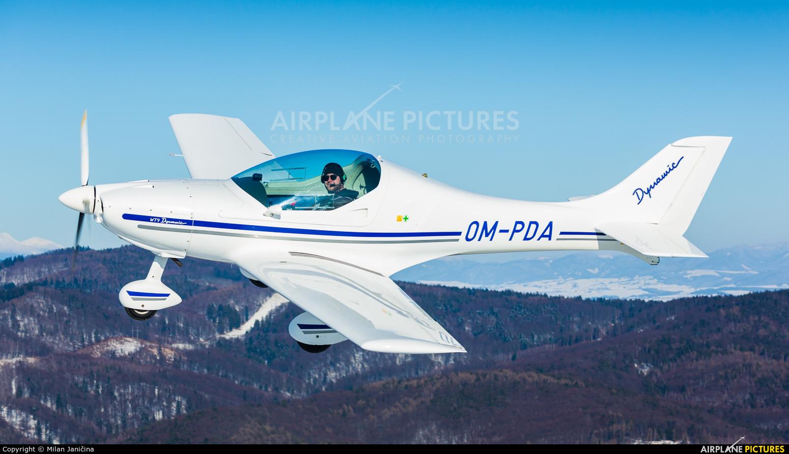 Aeroklub Prievidza OM-PDA aircraft at In Flight - Slovakia