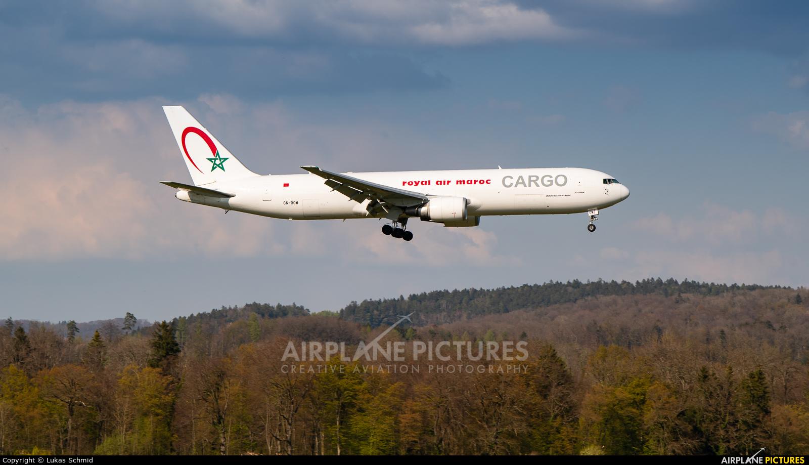 Royal Air Maroc Cargo CN-ROW aircraft at Zurich