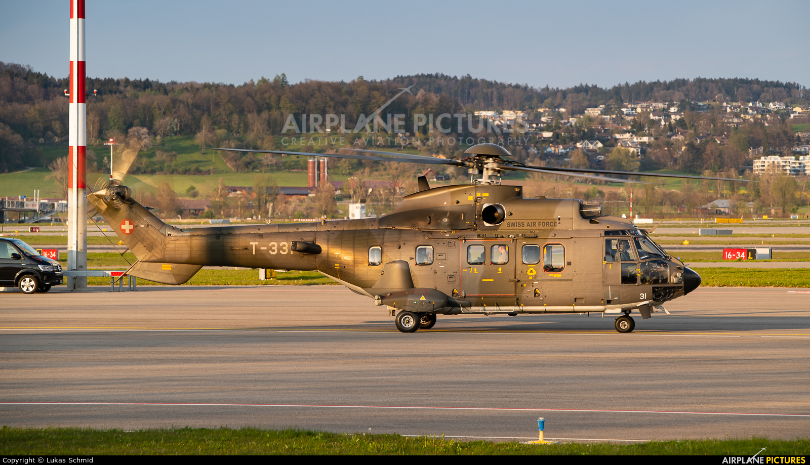 Switzerland - Air Force T-331 aircraft at Zurich