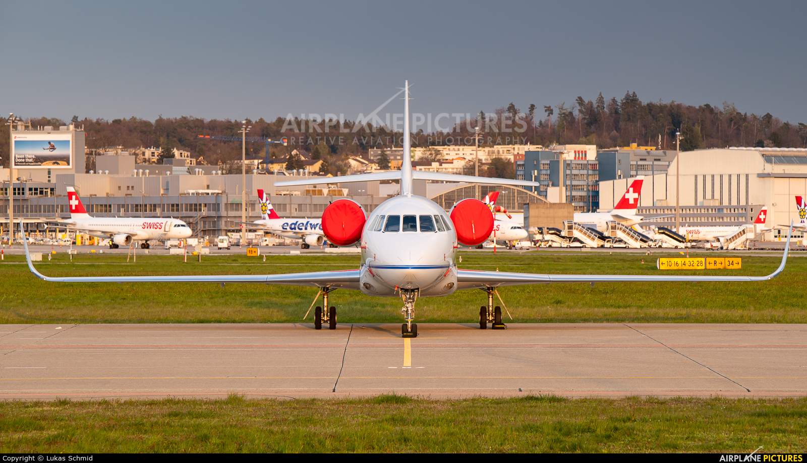 Private HB-IBJ aircraft at Zurich