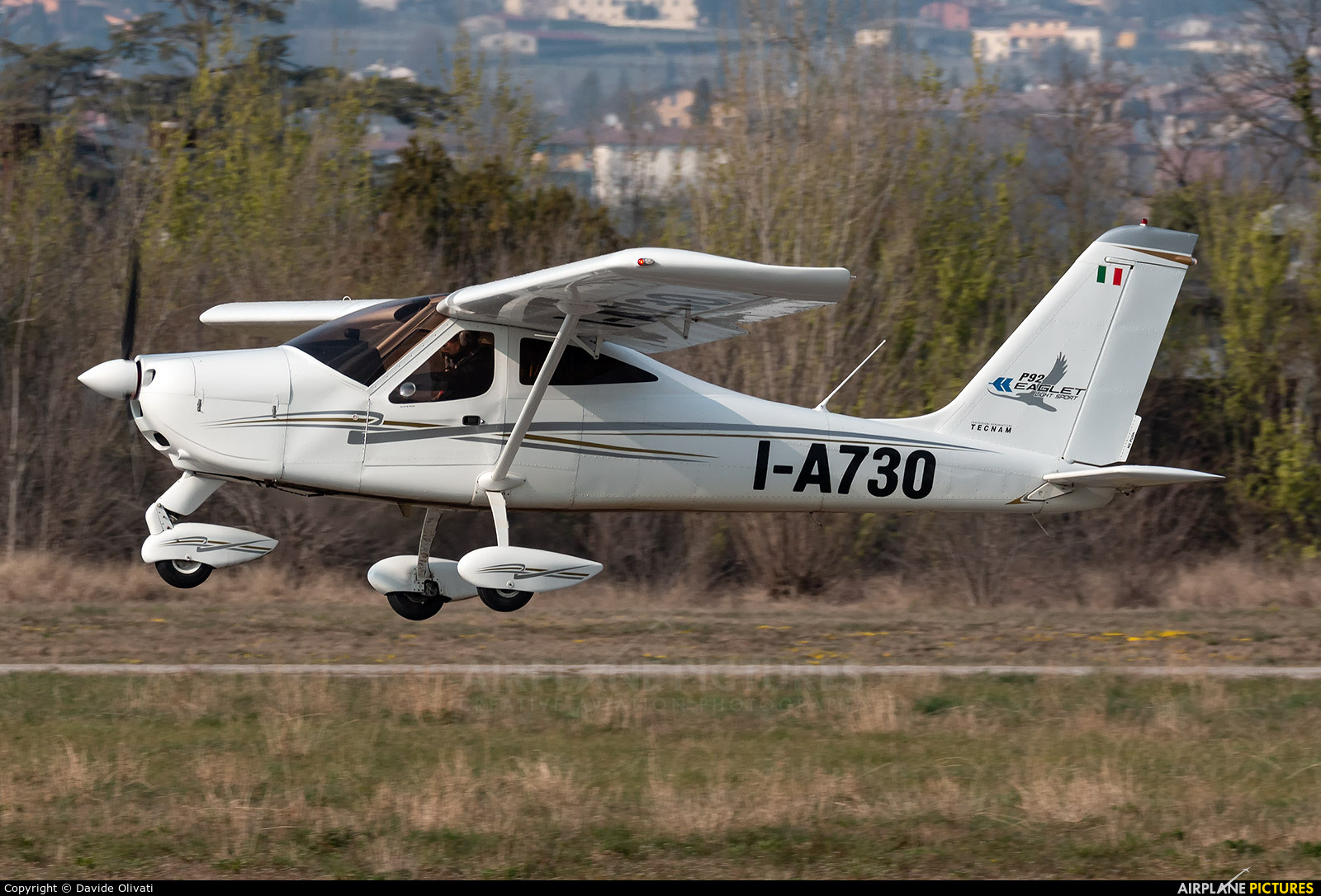 Private I-A730 aircraft at Verona - Boscomantico