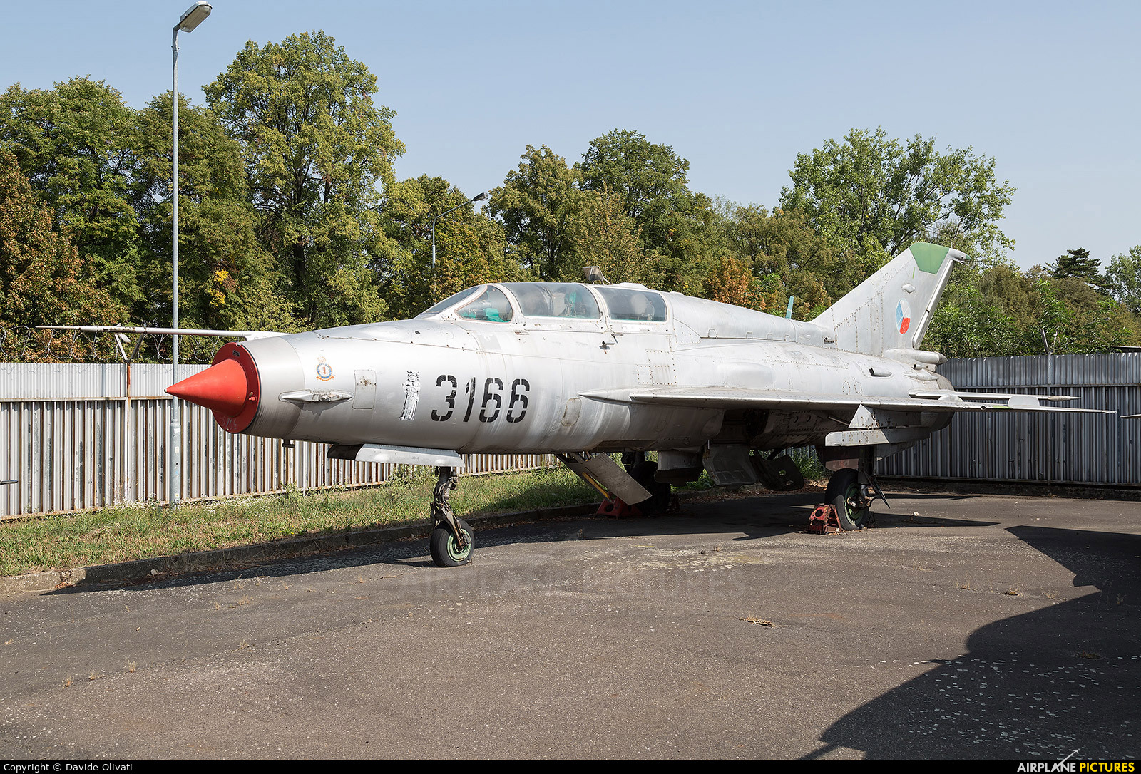 Czech - Air Force 3166 aircraft at Prague - Kbely, Letecké muzeum
