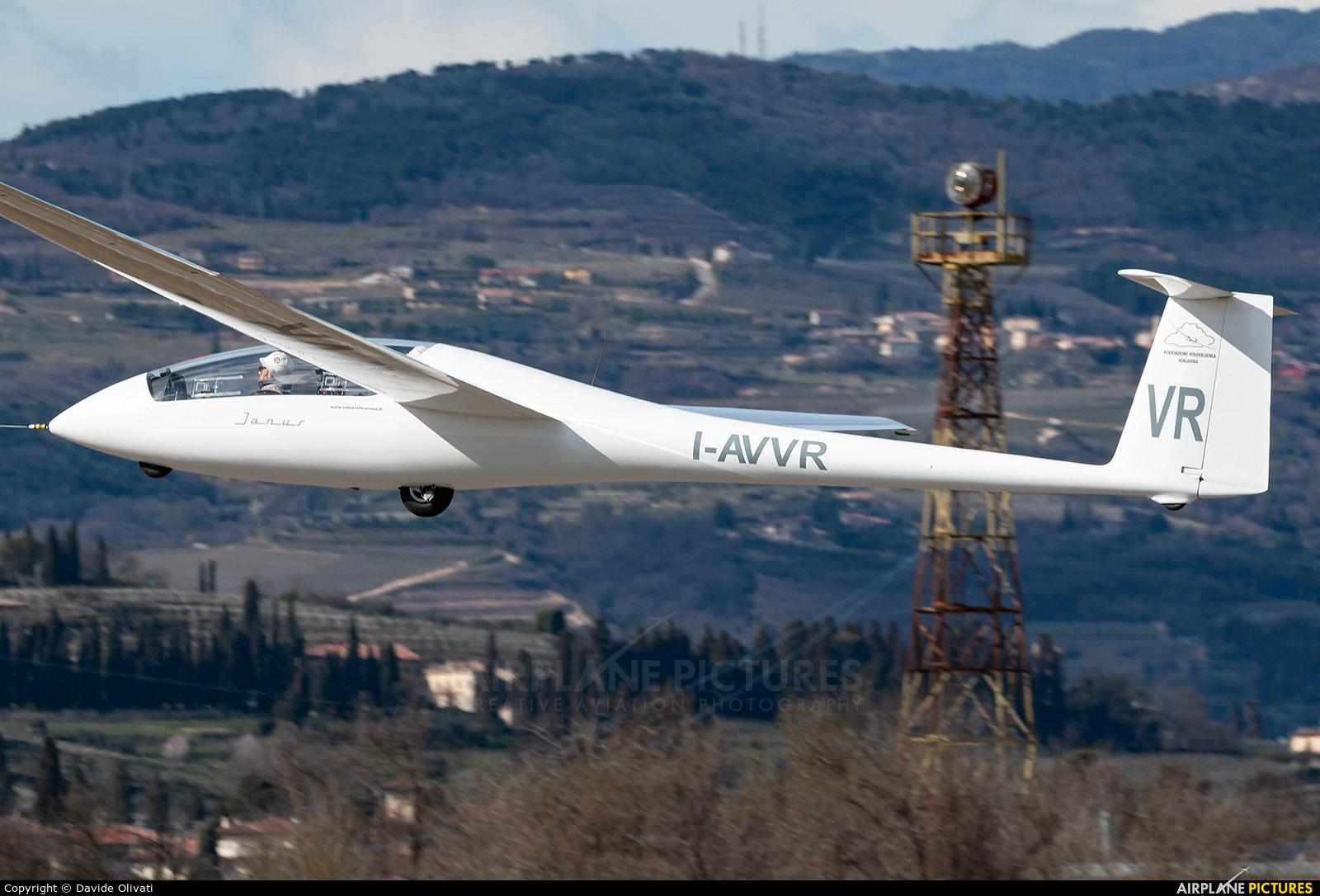 Private I-AVVR aircraft at Verona - Boscomantico