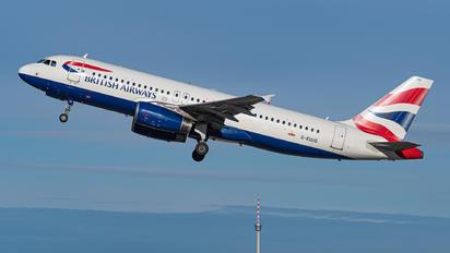 G-EUUG - British Airways Airbus A320