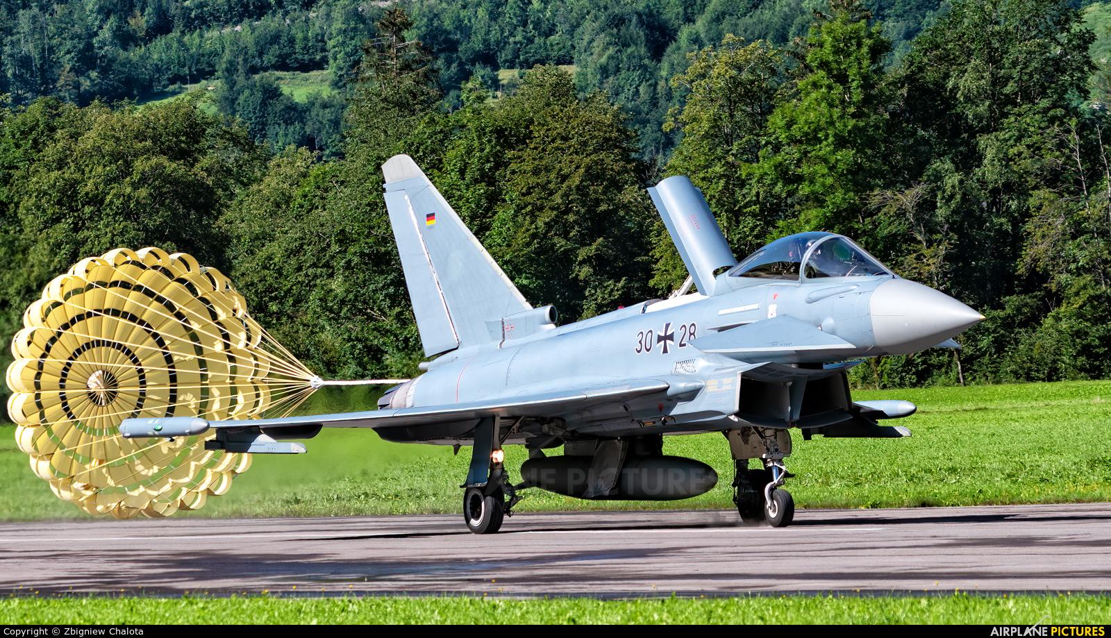 Germany - Air Force 30+28 aircraft at Mollis