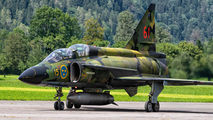 SE-DXO - Swedish Air Force Historic Flight SAAB AJS 37 Viggen aircraft