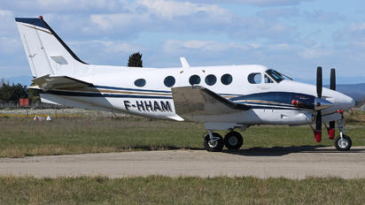 F-HHAM - Private Beechcraft 90 King Air