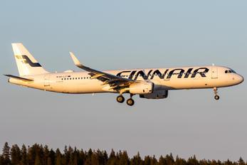 OH-LZT - Finnair Airbus A321