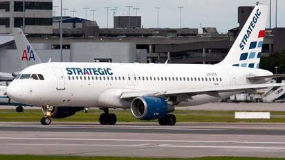 LX-STA - Strategic Airlines Airbus A320