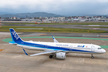 JA143A - ANA - All Nippon Airways Airbus A321 NEO
