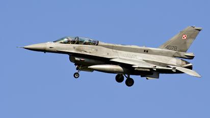 4078 - Poland - Air Force Lockheed Martin F-16D block 52+Jastrząb