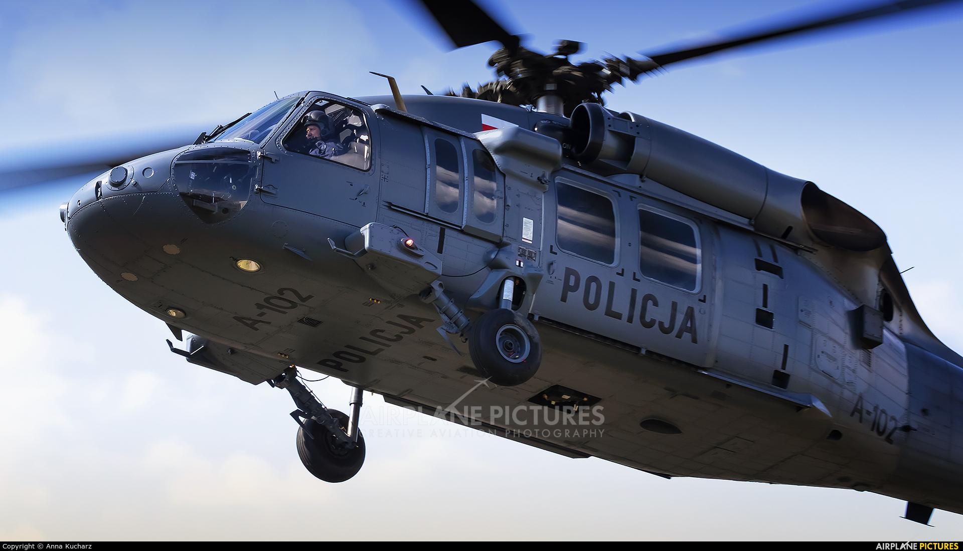 Poland - Police SN-71XP aircraft at Warsaw - Babice