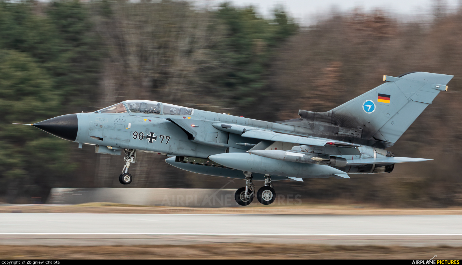 Germany - Air Force 98+77 aircraft at Ingolstadt - Manching