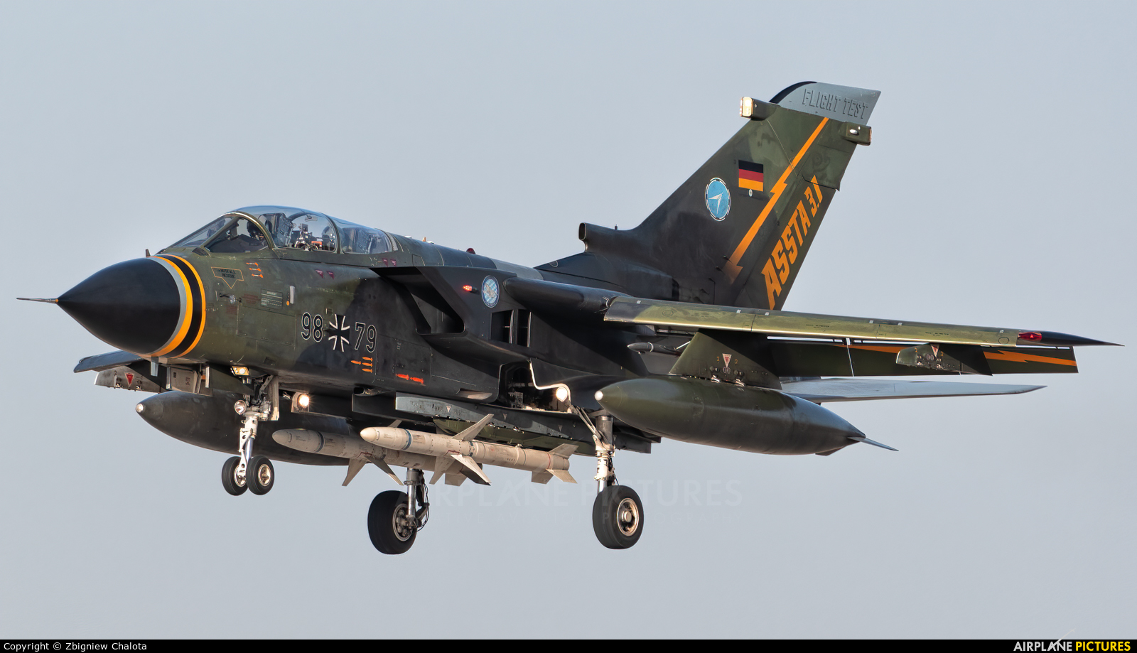 Germany - Air Force 98+79 aircraft at Ingolstadt - Manching