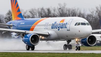 N204NV - Allegiant Air Airbus A320