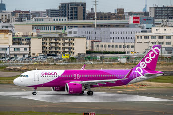JA203P - Peach Aviation Airbus A320 NEO